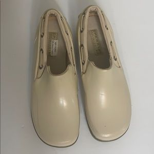Sperry top sider rubber flats